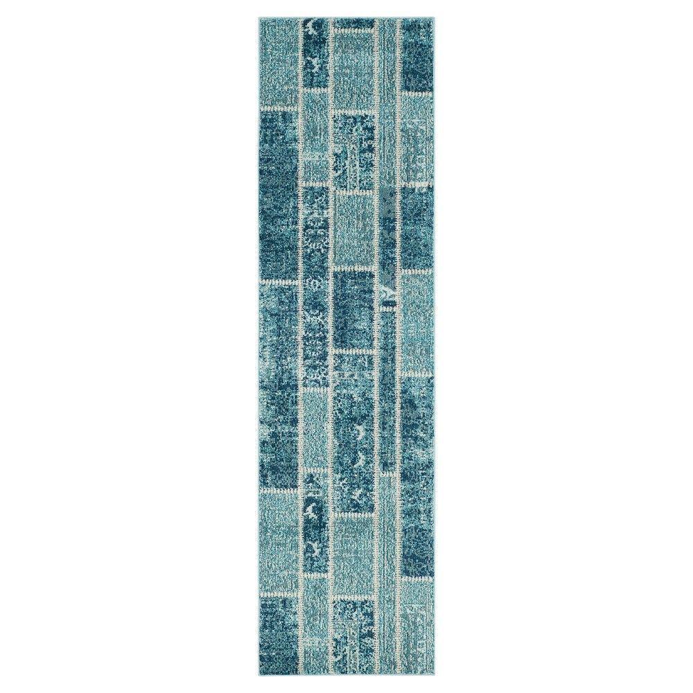 Safavieh Randall Runner - Blue / Multi ( 2' 2 X 8' )