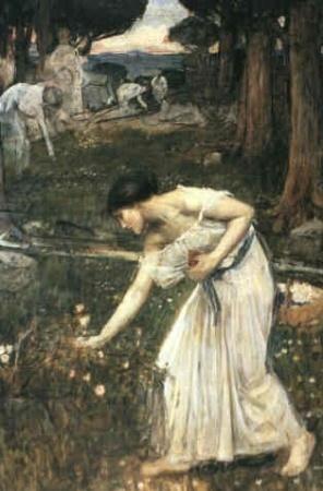 Narcissus (study) 1912