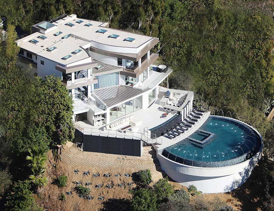 A Luxurious Custom Trophy Home in Beverly Hills Lovely Homes