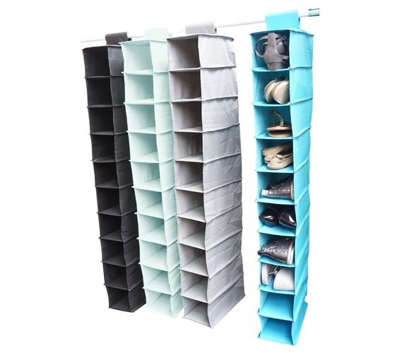 Exceptional TUSK College Storage   Hanging Shoe Shelves Will Let You Keep Your Dorm  Room Organized. This Closet Organizer Can Hold Shoes And Other Smaller Dorm  Items.