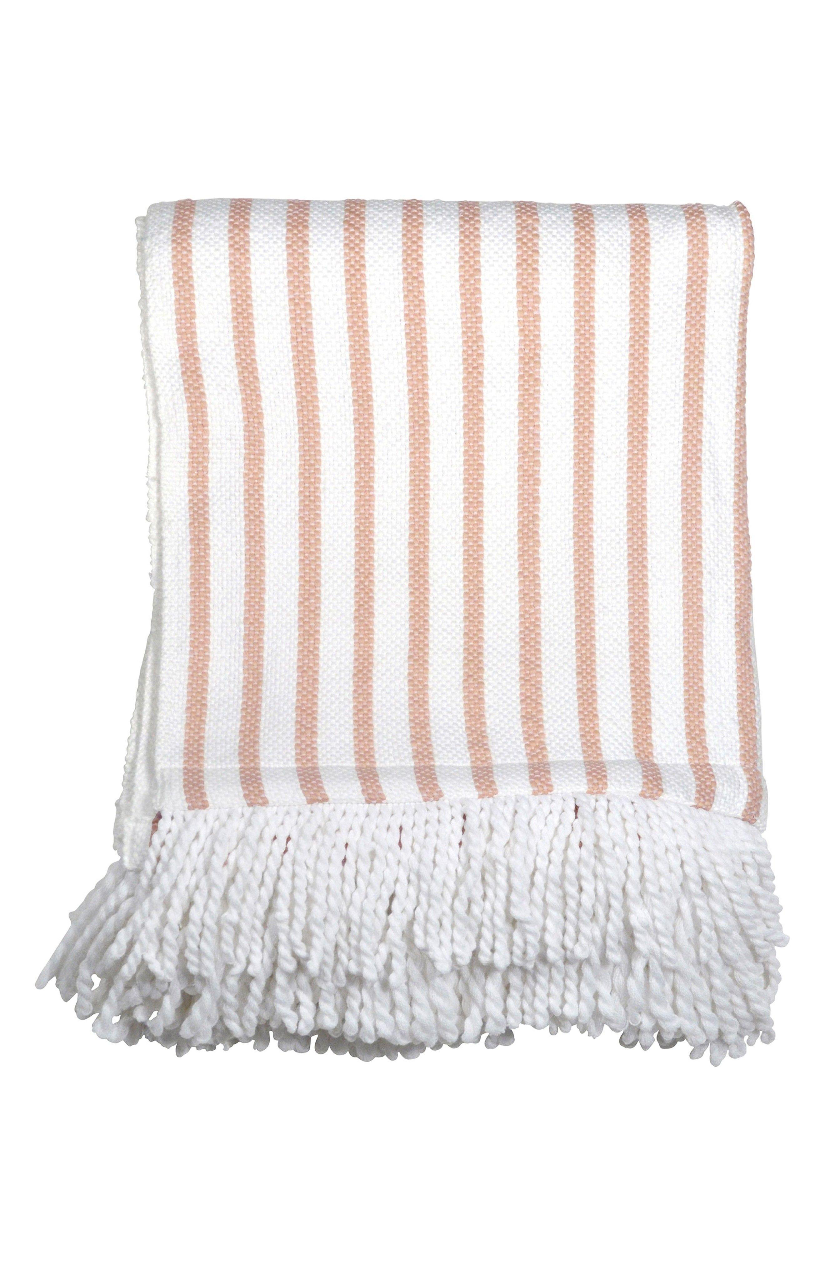 Blush Pink Throw Blanket Main Image  Peri Home Fringe Throw Blanket  Poppy  Pinterest