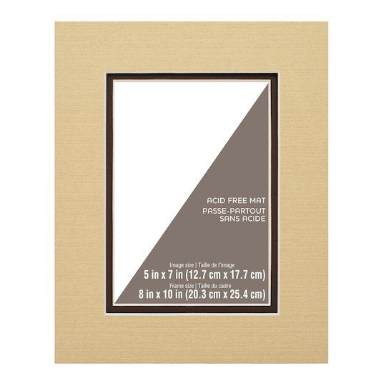 8 X 10 Double Mat By Studio Decor 5 X 7 Opening Studio Double Photo Free Frames