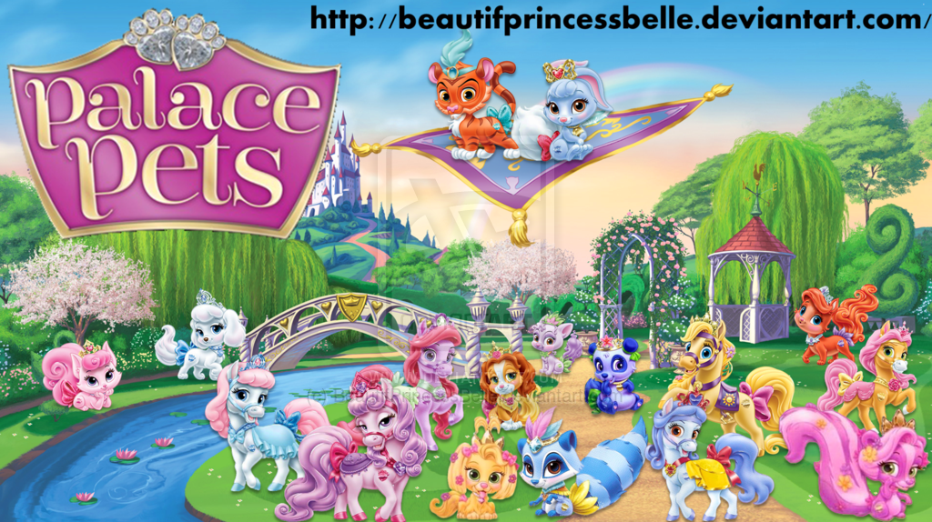 Disney Palace Pets All The Palace Pets By Beautifprincessbelle On Deviantart Disney Princess Pets Palace Pets Princess Palace Pets