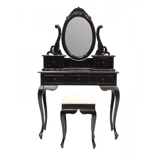 http://www.hudsonfurniture.com.au/contemporary-range/Hudson-Furniture/distressed-black-marcella-dressing-table-with-stool