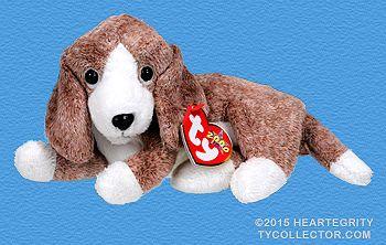 Sniffer Dog Ty Beanie Babies Baby Beanie Beanie Baby Dog