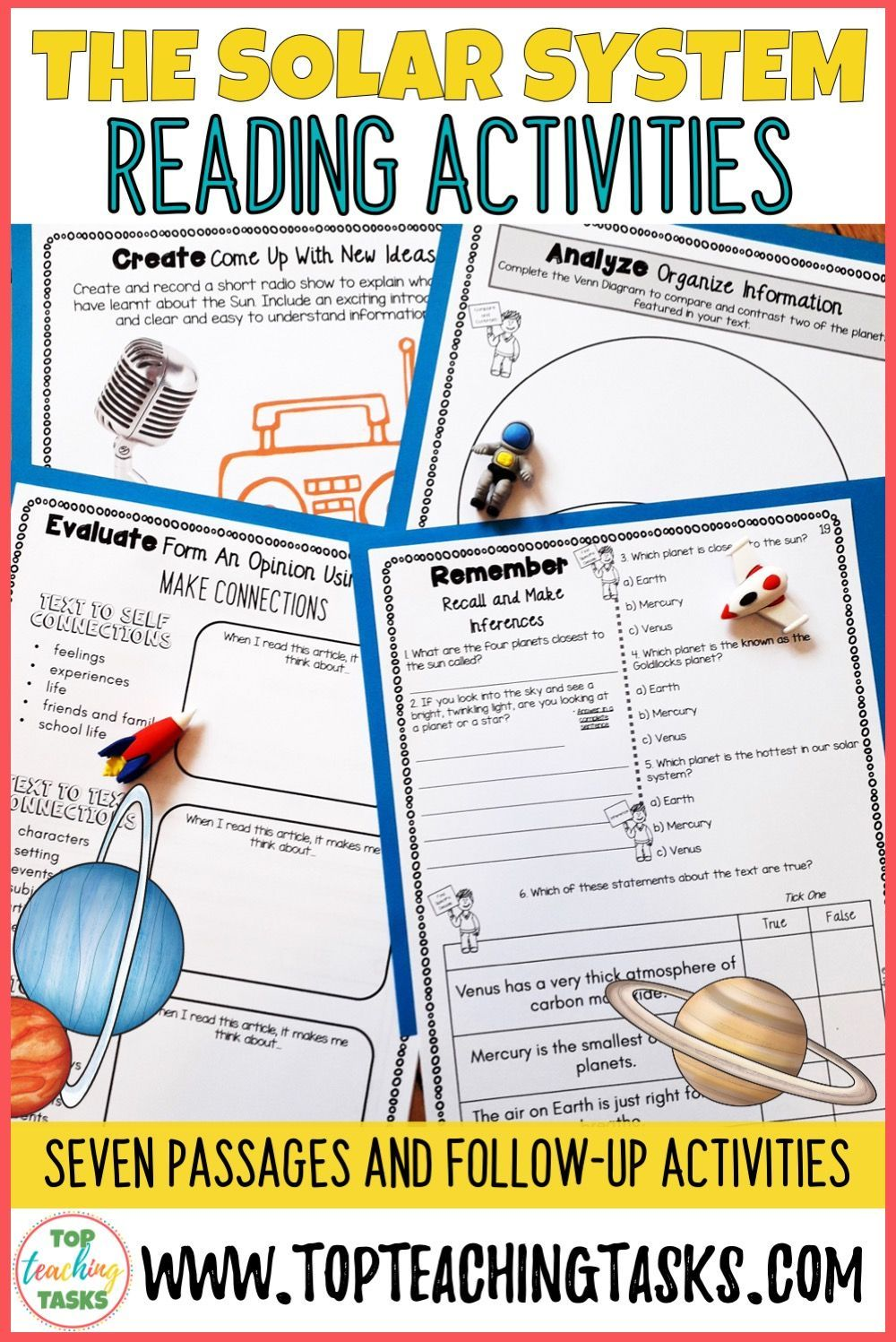 The Solar System Reading Comprehension Passages And Questions Space Reading Reading Comprehension Reading Comprehension Passages Comprehension Passage [ 1497 x 1000 Pixel ]