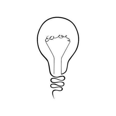 Tattify Lightbulb Temporary Tattoo