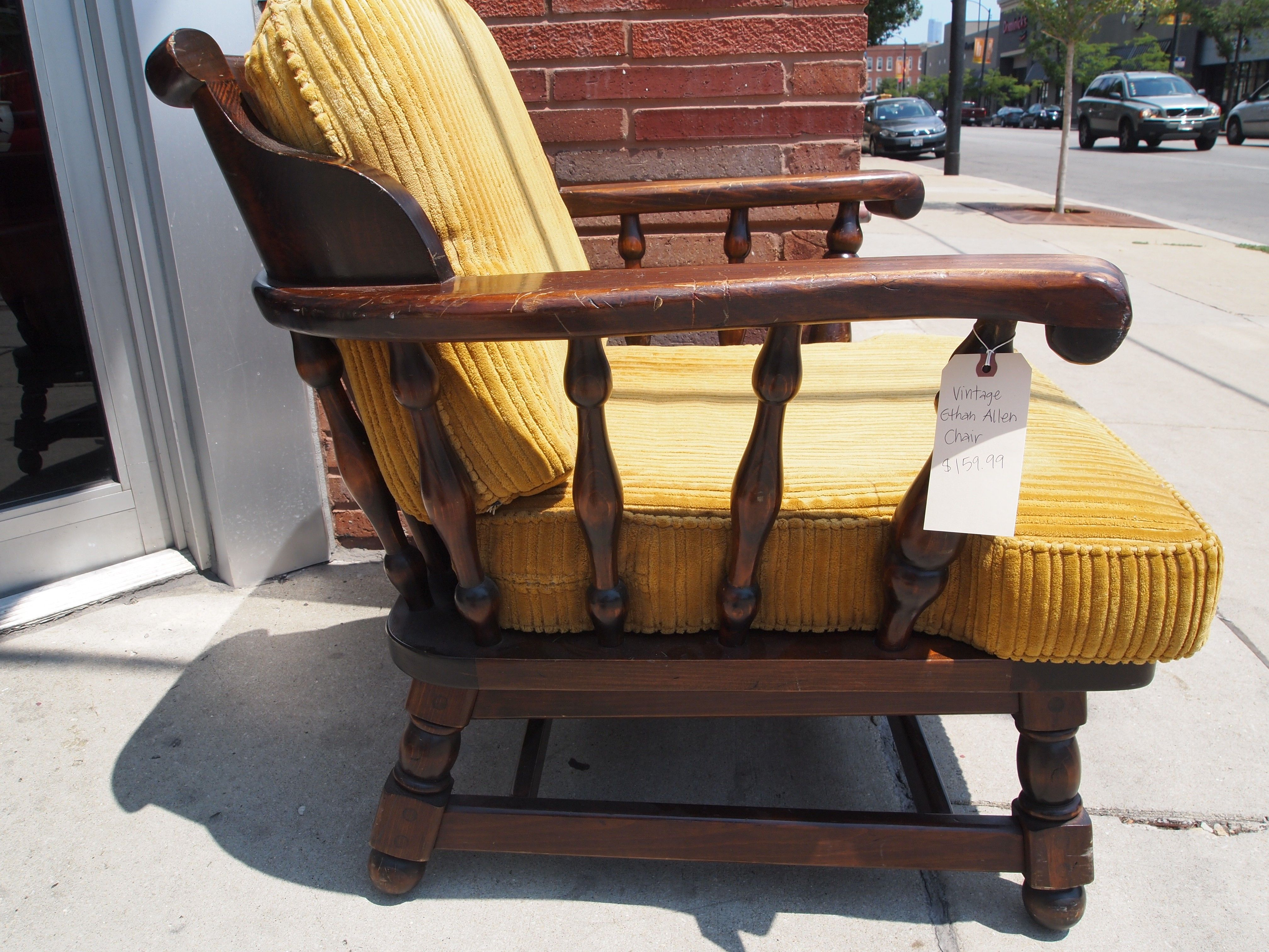 Pin By Marisa Saucedo On Galeria Ctr Ethan Allen Vintage Chair