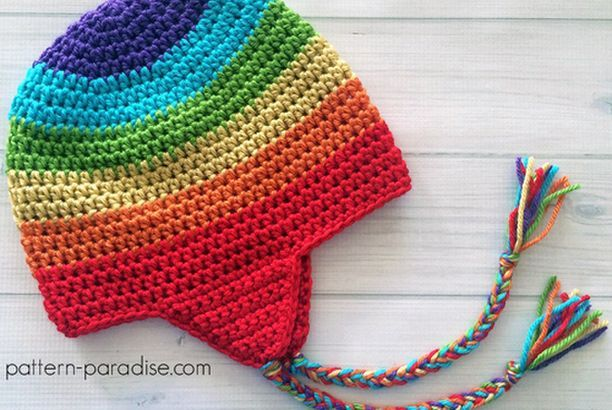 Easy Earflap Hat Free Crochet Pattern Beautiful Skills Crochet