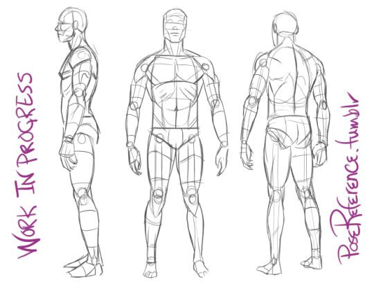 AnatoRef — PoseReference by Justin Martin | referencias anatomia ...