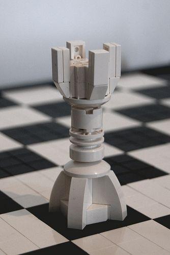 Lego Chess White Rook | Flickr - Photo Sharing!