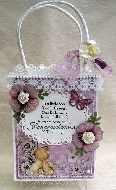 Scrap Cards by Marlies: Baby