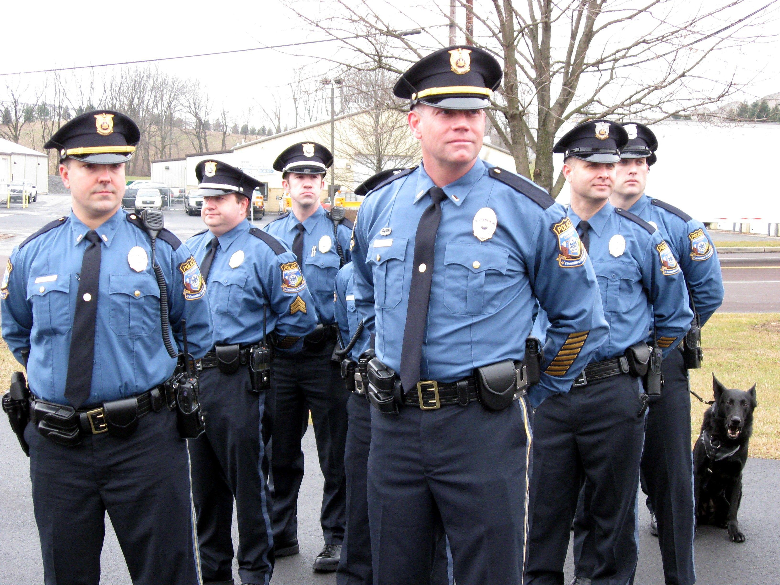 american police uniform contemporary military police