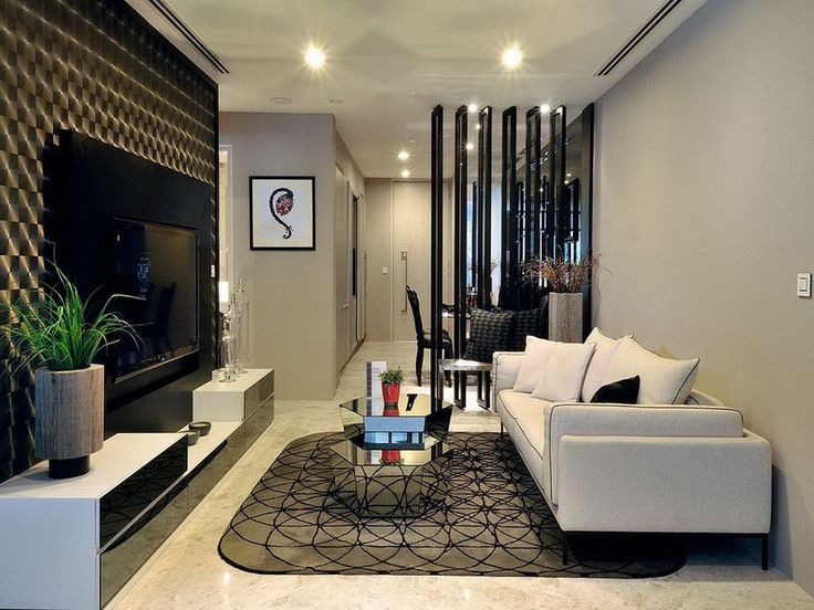 Luxurious Interior Small Apartment Living Room Decorating Ideas