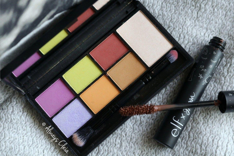 elf X Jkissa Palette Review Blue eyeliner, Makeup