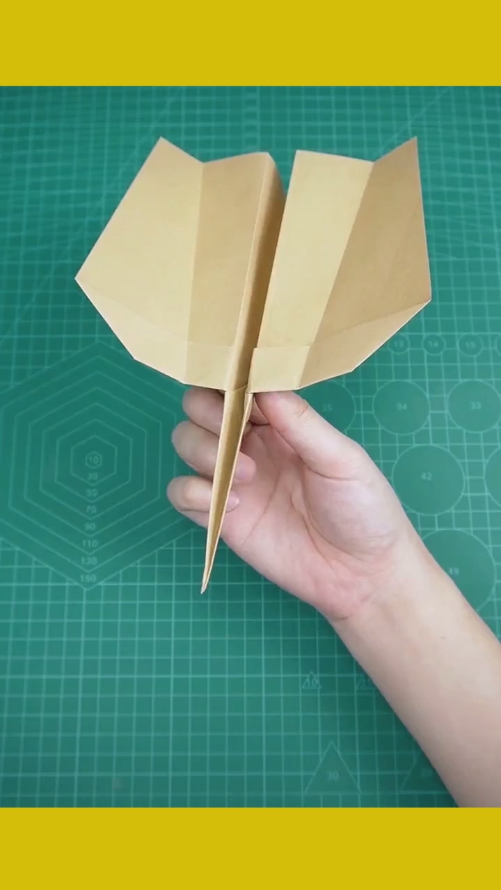 Photo of A paper plane that can return by itself