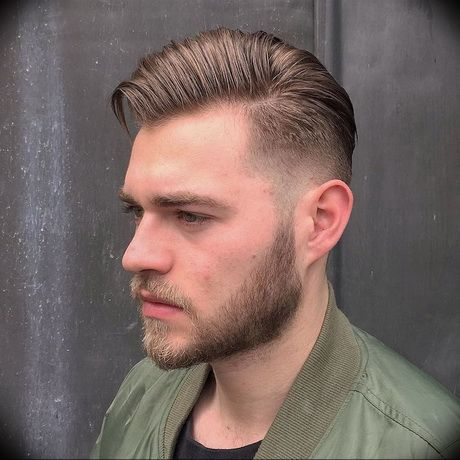 26+ Homme coiffure grand front des idees