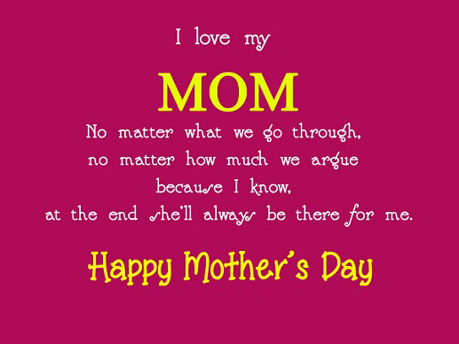 Mother's Day Quotes From Son | mother's | Happy mother day quotes