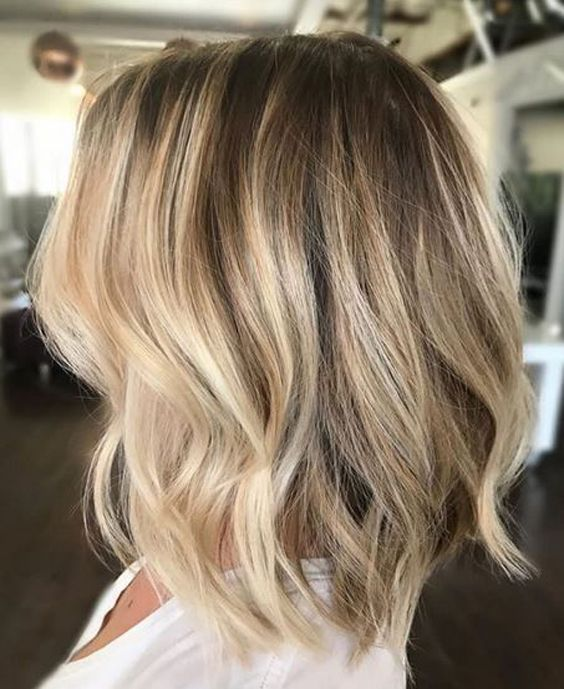 Beautiful Elegant Blonde Hair Highlights And Low Lights 2017 2018.