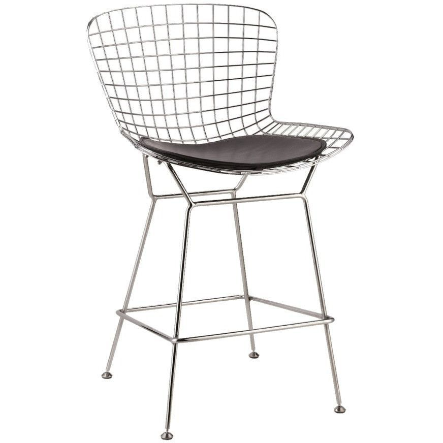Fine Mod Imports FMI2126 Wire Counter Height Chair