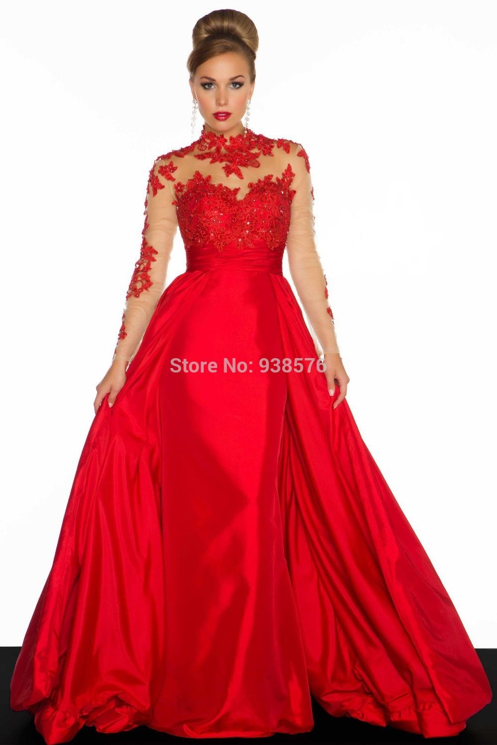 plus size formal dresses with sleeves - Google Search ...