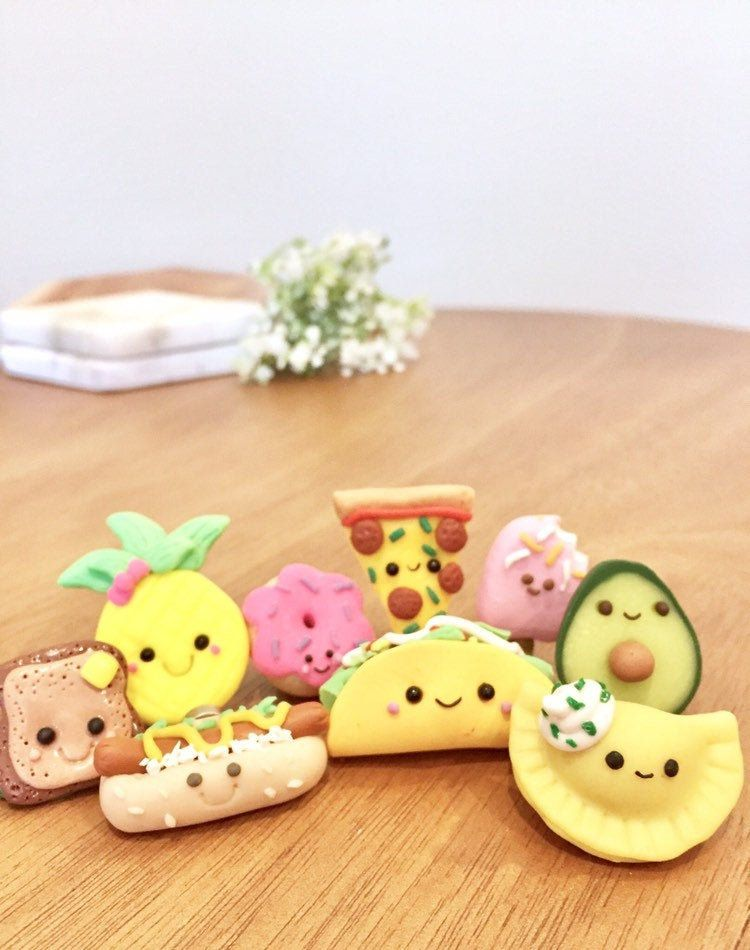 Refrigerator Magnet Miniature Food Magnet Locker Magnet Polymer Clay Food Magnet Realistic Miniature Sushi Magnet Tiny Food