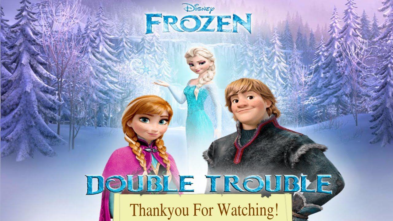 Double Trouble Disney Frozen Games