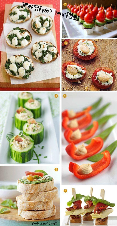Tapas originales para invitados aperitivos para for Cenas sencillas y originales