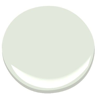 Benjamin Moore Dew Drop A Very Pale Blue Green I Love