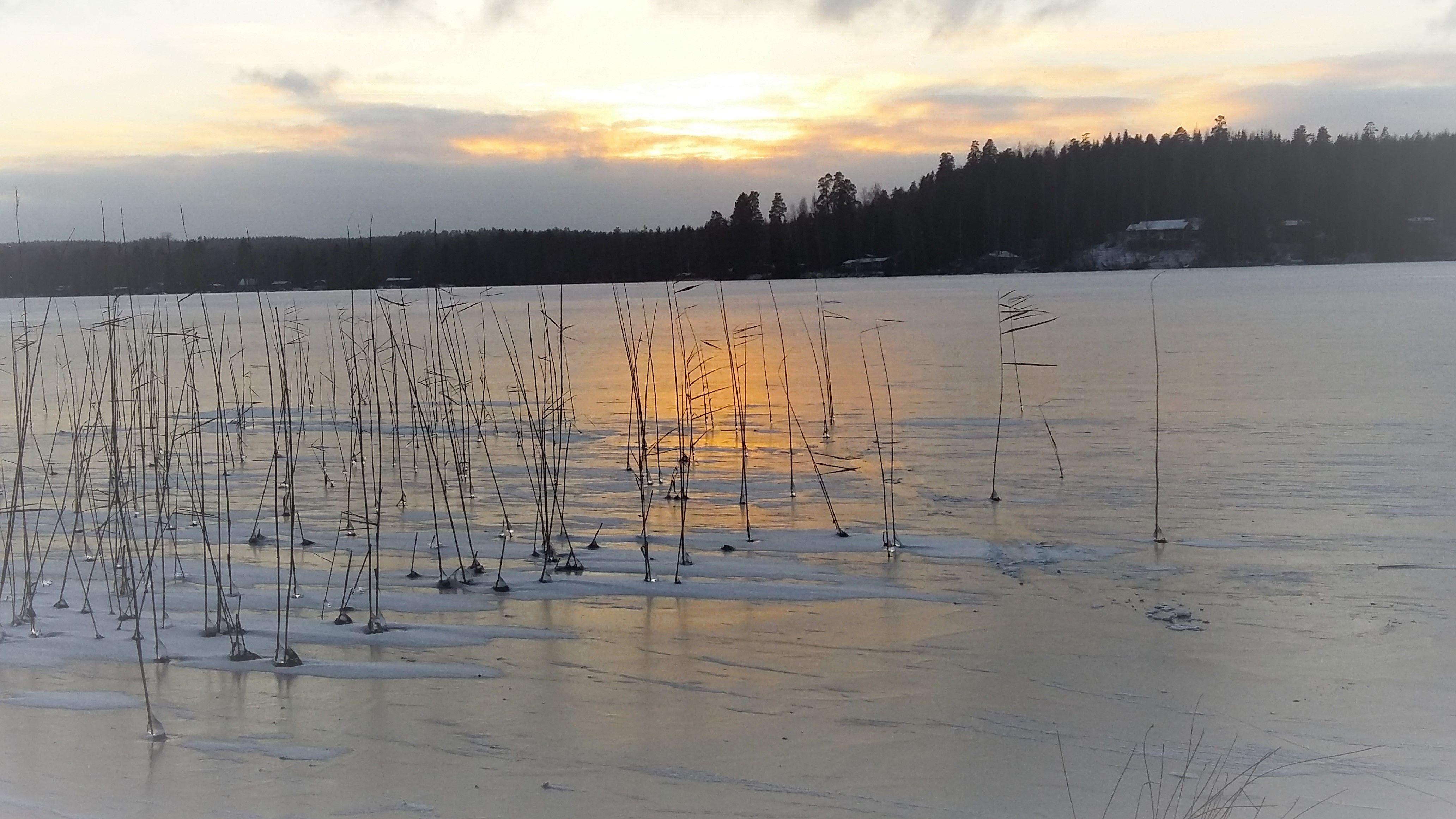 Järven jäällä