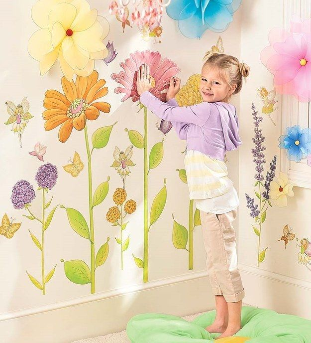 30 Completely Adorable Wall Decals For Kids\' Rooms | Kids rooms ...