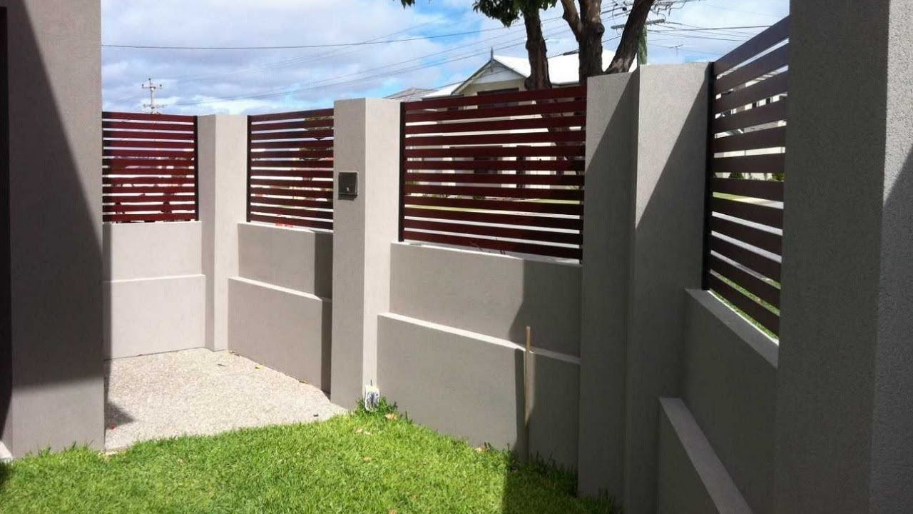 50 Fachadas De Muros Exteriores Muros Para Frente De Viviendas Muros Casas De Ladrillo Casas