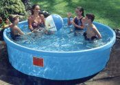 Quot 8 Blue Round Poly Stock Tank Quot For Kids Swimming Pool