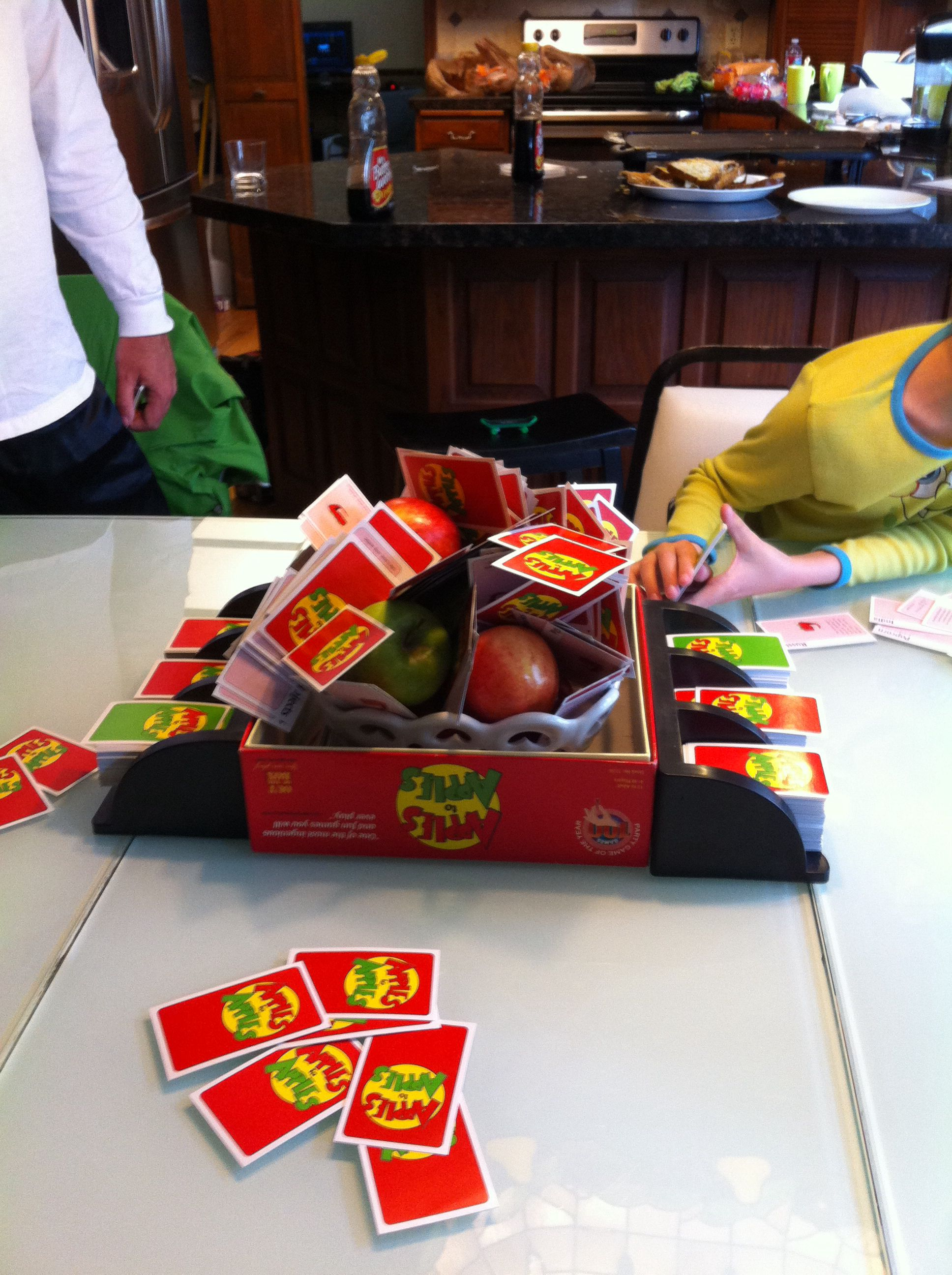 Apples to Apples card, Cards against humanity
