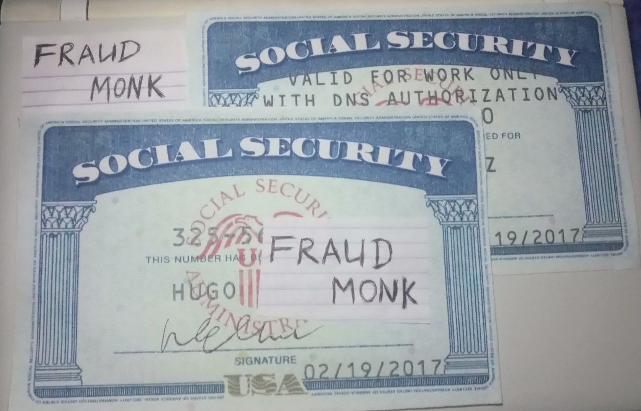 Pin by fraud monk on fruadmonk ids samples in 2020