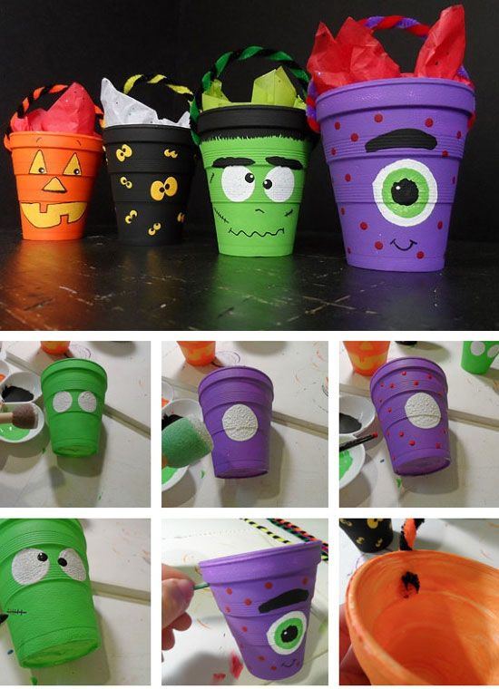27 diy halloween decorating ideas for kids - Diy Halloween Decorations For Kids