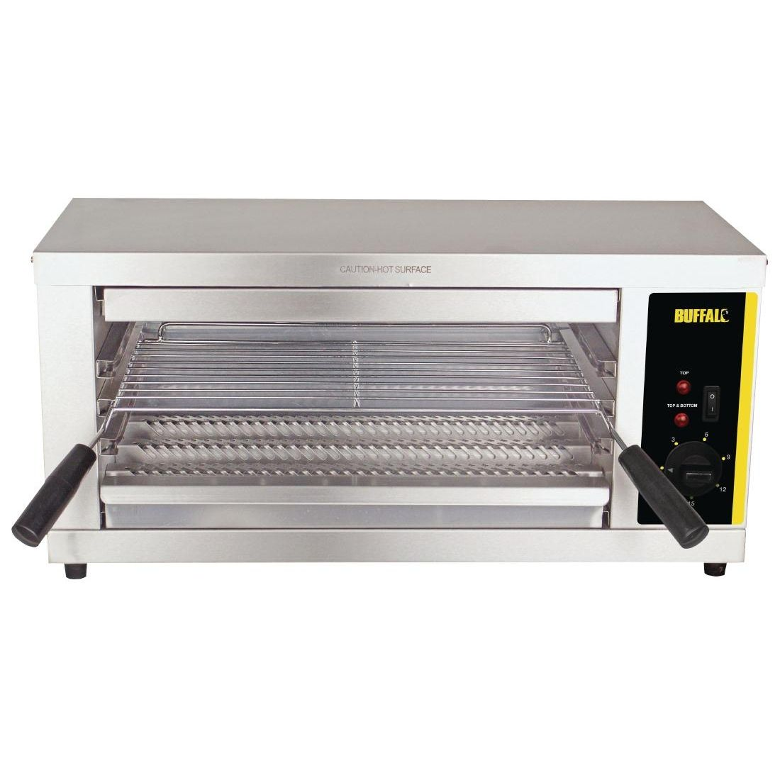 Buffalo Quartz Salamander Grill Stainless Steel Countertops
