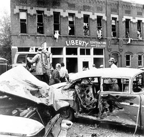 Sixteenth Street Baptist Church bombing. The bombing of the Sixteenth Street Baptist Church in ...