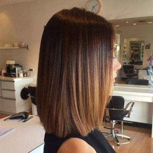pin on medium length hair straight