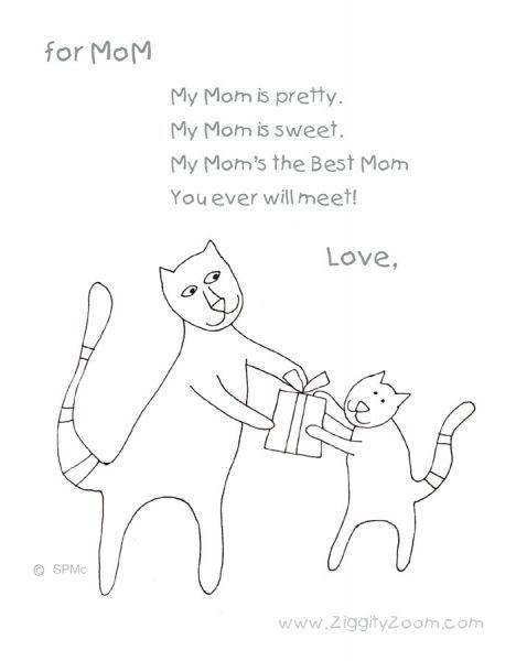 Mothers Day Poems For Little Kids Art ideas Pinterest