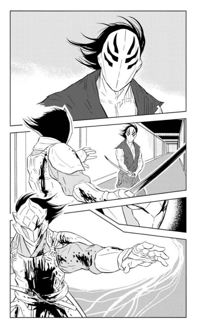 If you'd like to get a glimpse of Kamen volume 02 before