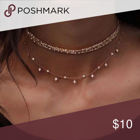 Photo of New! 2 for $ 10 Fashion Jewelry Layered Necklace Brand new! Feel free to check ou …
