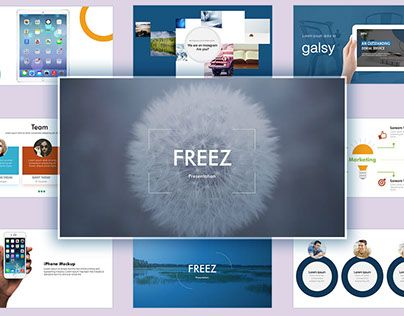 """Check out new work on my @Behance portfolio: """"Freez PowerPoint Presentation"""" http://be.net/gallery/52313809/Freez-PowerPoint-Presentation"""