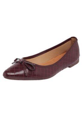 5a488c91b Sapatilha DAFITI SHOES Matelassê Vinho | Shoes | Sapatilhas ...