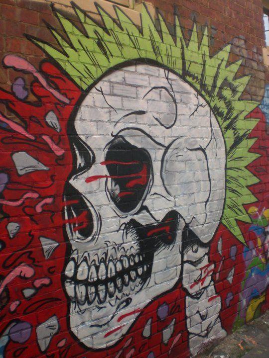 Graffiti Art Characters Punk Skull Graffiti Character Graffiti Street Art