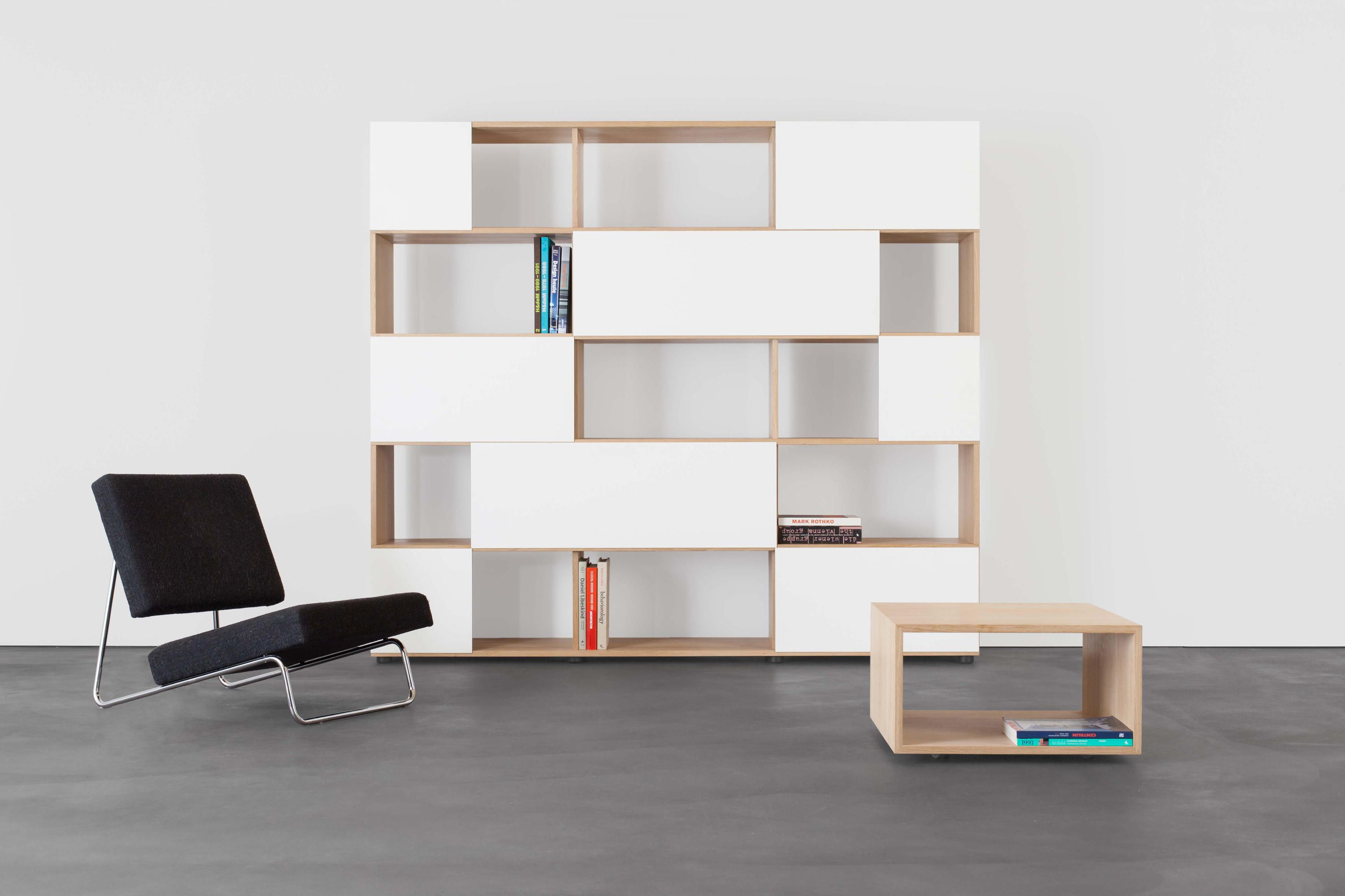 If You Have A Good Collection Of Books But You Can T Manage It Then You Can Think Of Modular Book Storage Unit With The Hel Modulares Regal Regal Einbauschrank