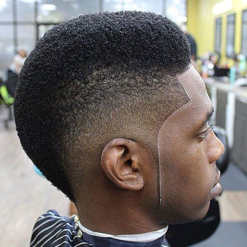 The Burst Fade Mohawk Haircut | Burst fade mohawk, Burst ...