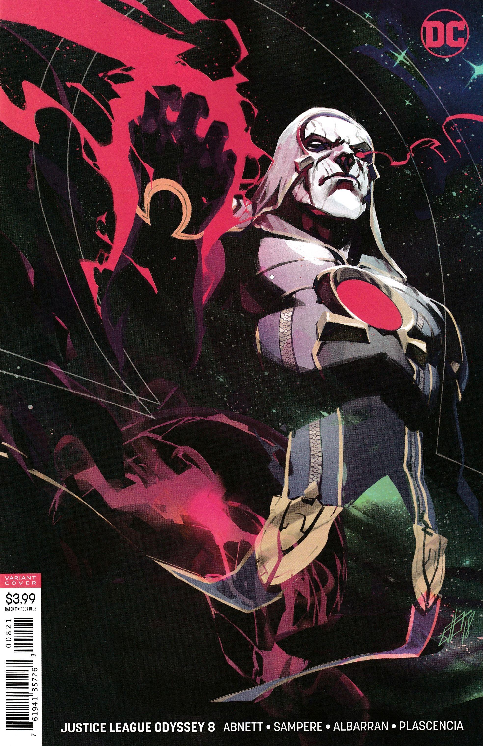 Justice League Dark #8 DC Universe comics Kelley Jones Variant Cover NM