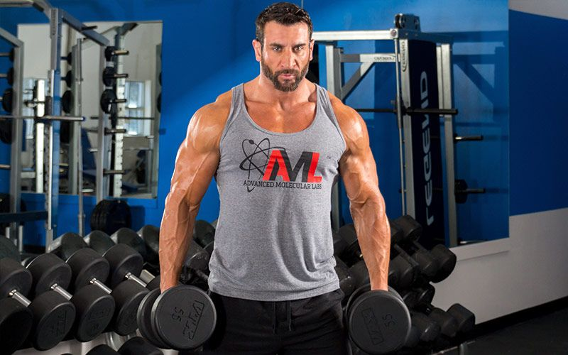 Intense superset chest biceps workout with joe donnelly