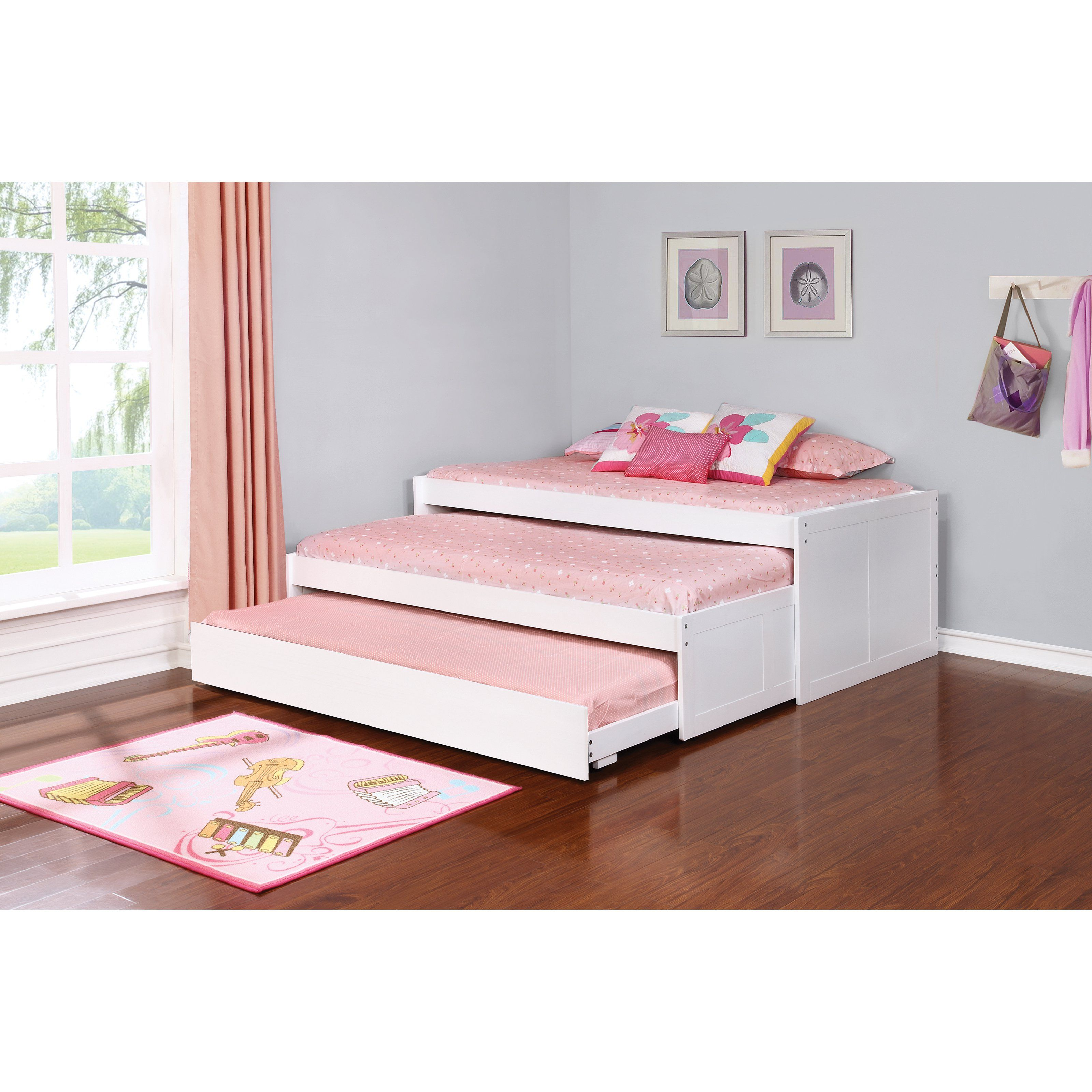 Best Coaster Furniture Aaron Daybed From Hayneedle Com Daybed With Trundle Furniture Coaster 640 x 480